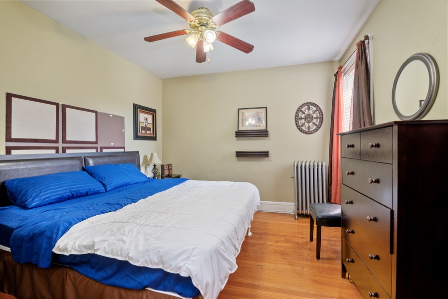 Real Estate Photography - 1151 West Waveland Ave, Chicago, IL, 60613 - 2nd Bedroom