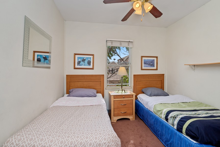 Real Estate Photography - 1151 West Waveland Ave, Chicago, IL, 60613 - 3rd Bedroom