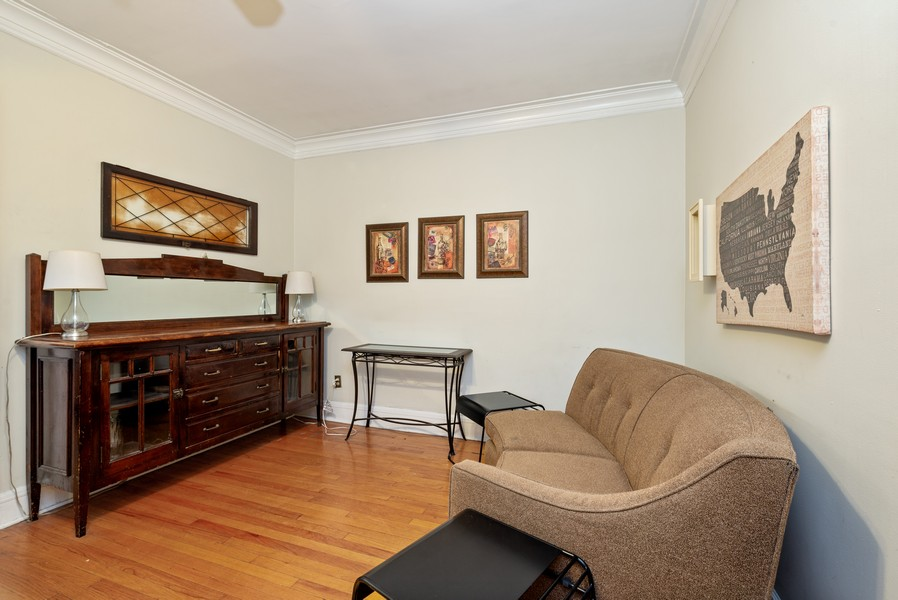Real Estate Photography - 1151 West Waveland Ave, Chicago, IL, 60613 - Family Room