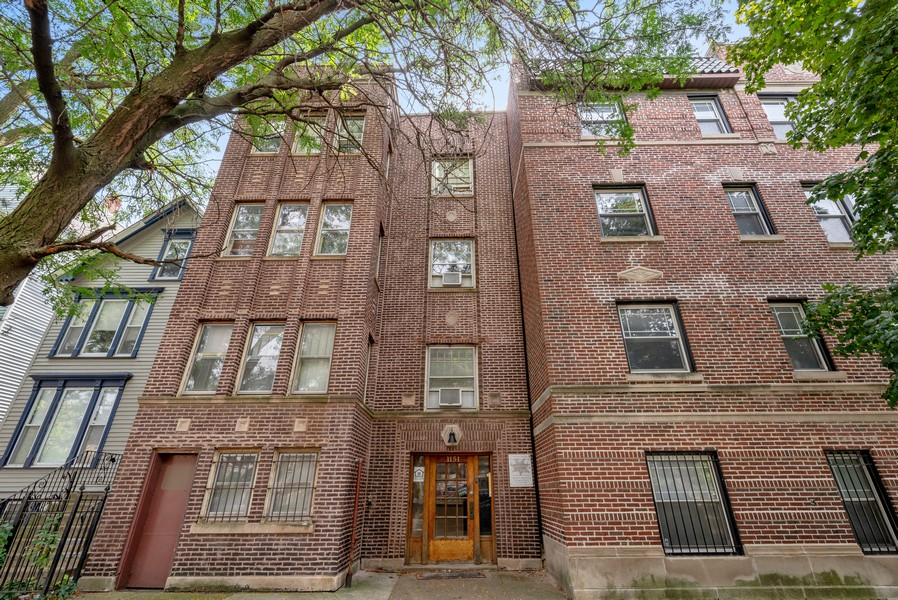 Real Estate Photography - 1151 West Waveland Ave, Chicago, IL, 60613 - Front View