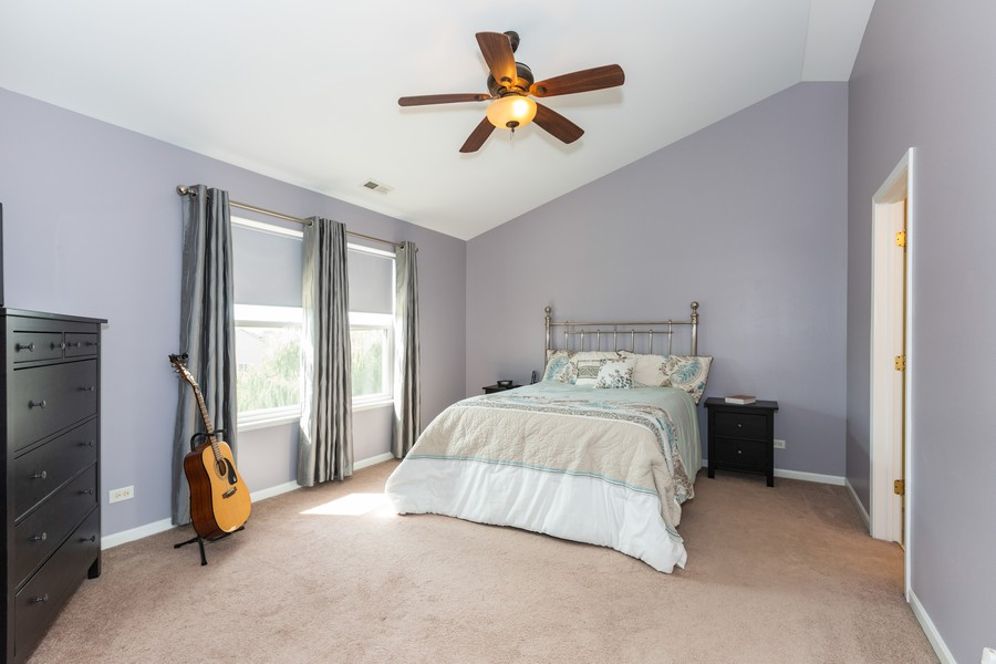 Real Estate Photography - 16511 Lanfear Dr, Lockport, IL, 60441 - Master Bedroom