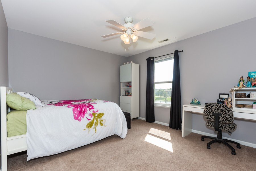 Real Estate Photography - 16511 Lanfear Dr, Lockport, IL, 60441 - 2nd Bedroom