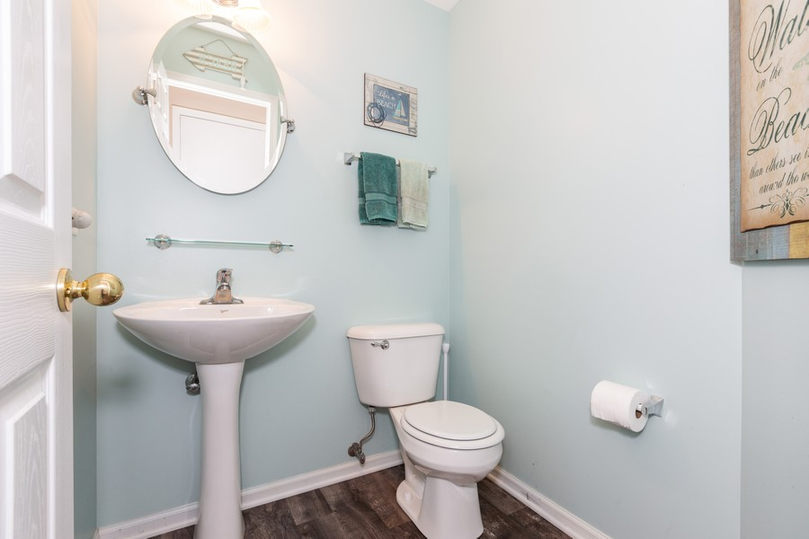 Real Estate Photography - 16511 Lanfear Dr, Lockport, IL, 60441 - 2nd Bathroom
