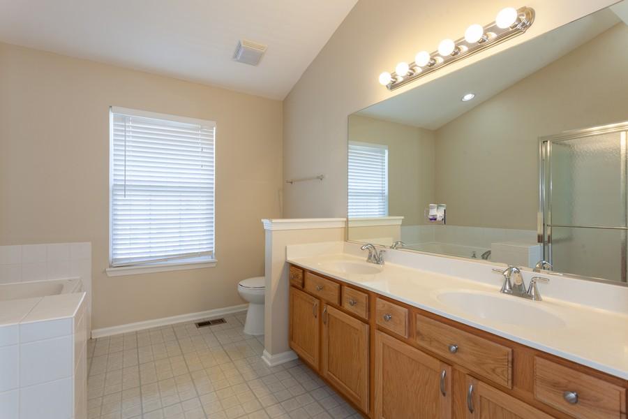 Real Estate Photography - 763 Sapphire Dr, Bolingbrook, IL, 60490 - Master Bathroom