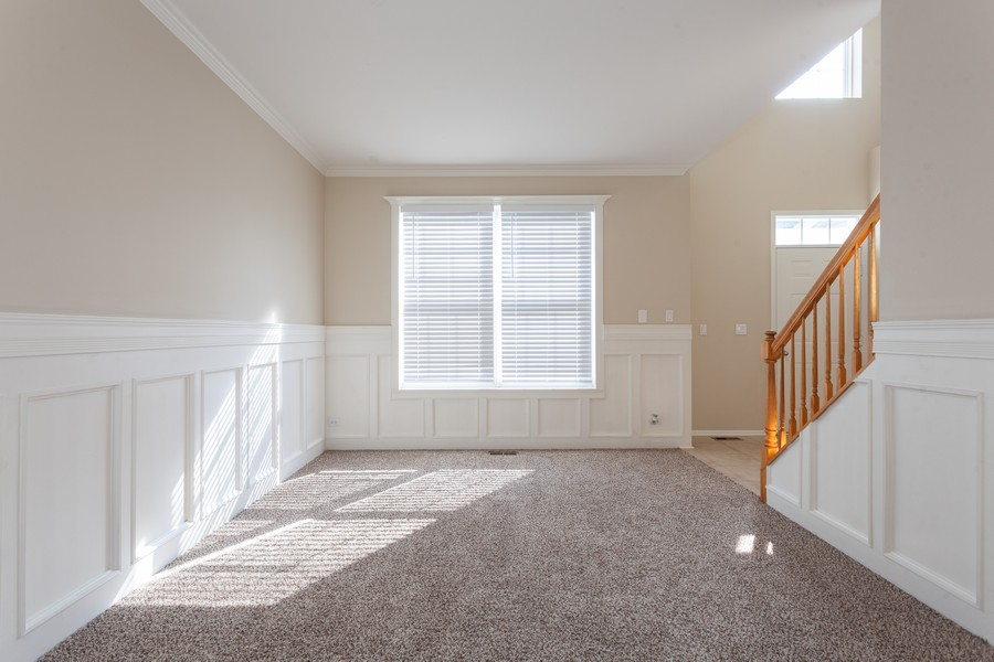 Real Estate Photography - 763 Sapphire Dr, Bolingbrook, IL, 60490 - Living Room