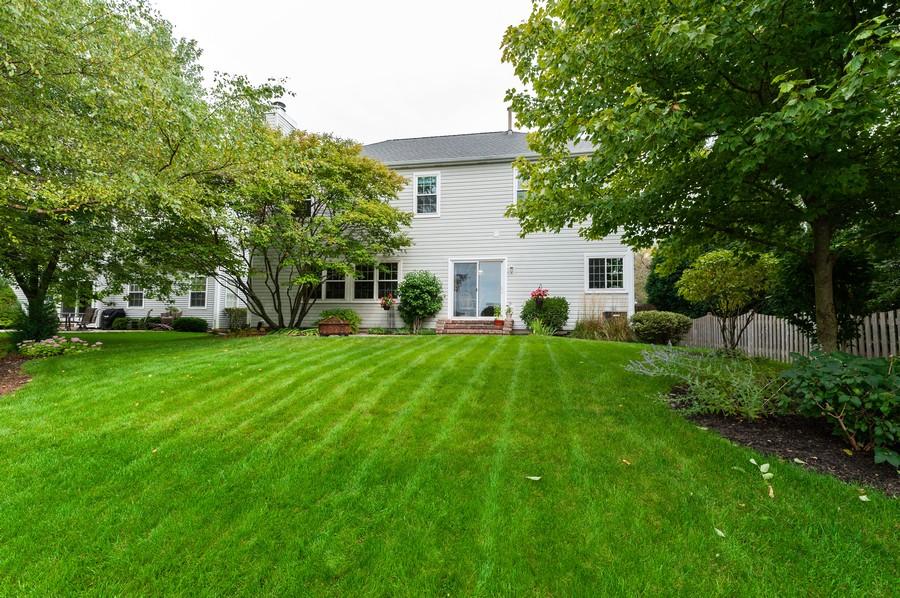 Real Estate Photography - 829 Tylerton Cir, Grayslake, IL, 60030 - Rear View