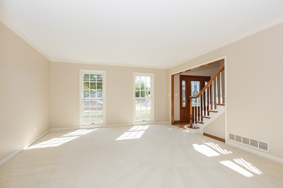 Real Estate Photography - 3011 Bennett Dr, Naperville, IL, 60564 - Living Room