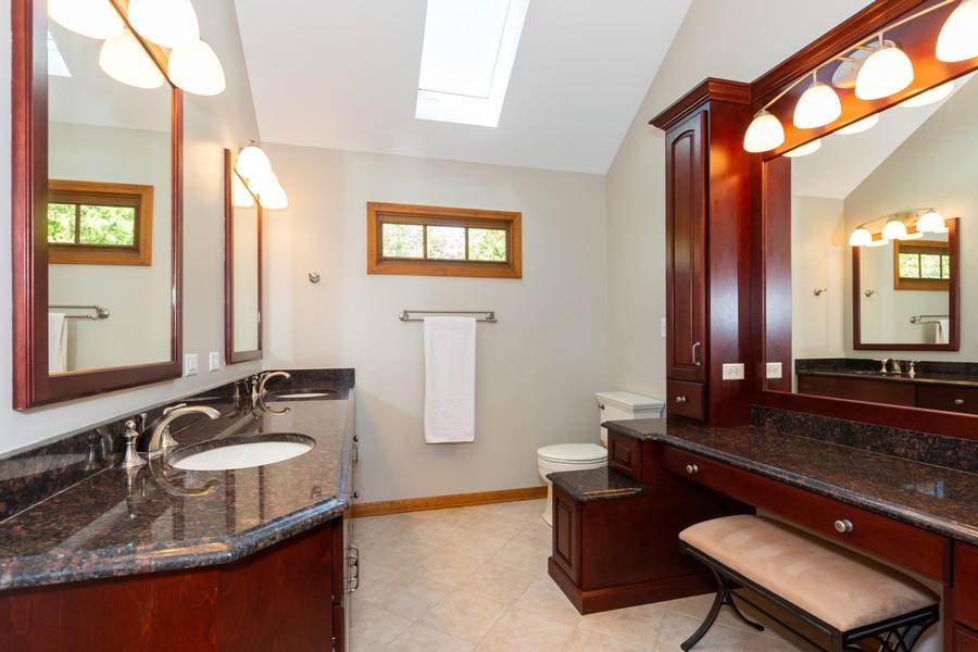 Real Estate Photography - 3011 Bennett Dr, Naperville, IL, 60564 - Master Bathroom