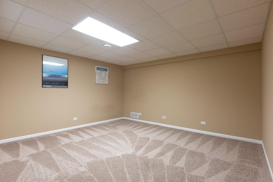 Real Estate Photography - 3011 Bennett Dr, Naperville, IL, 60564 - Basement Bedroom