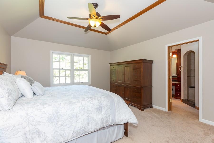Real Estate Photography - 3011 Bennett Dr, Naperville, IL, 60564 - Master Bedroom