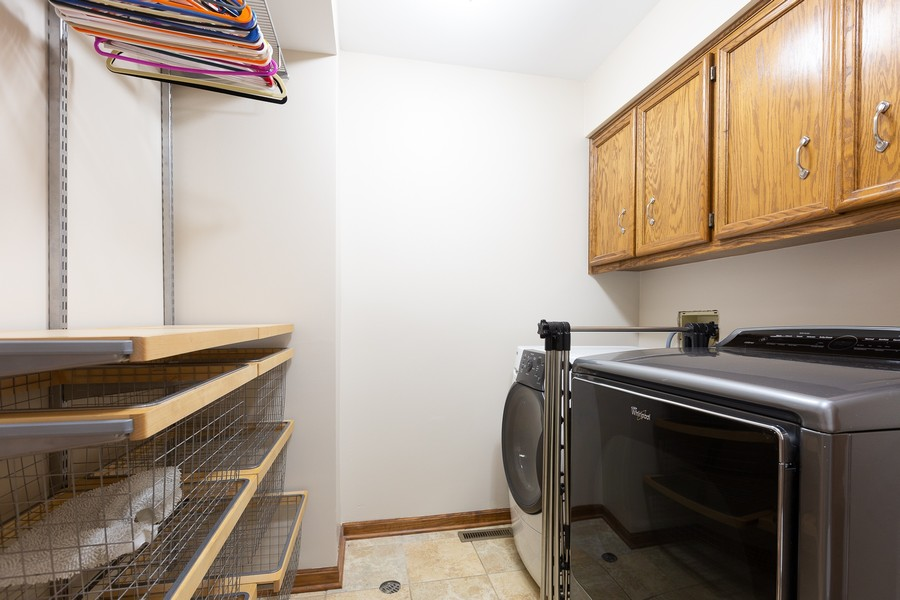 Real Estate Photography - 3011 Bennett Dr, Naperville, IL, 60564 - 1st Floor Laundry Room