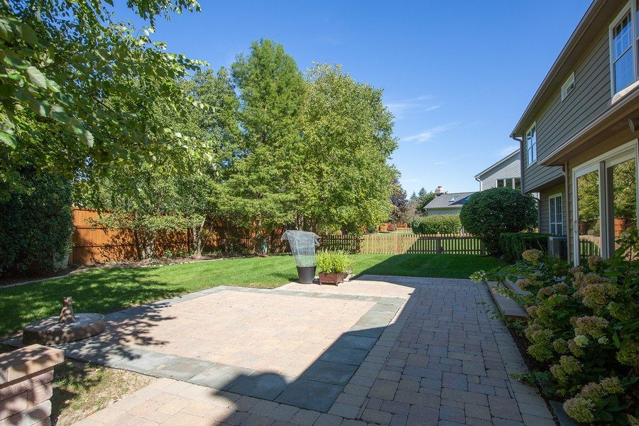 Real Estate Photography - 3011 Bennett Dr, Naperville, IL, 60564 - Exterior Rear View