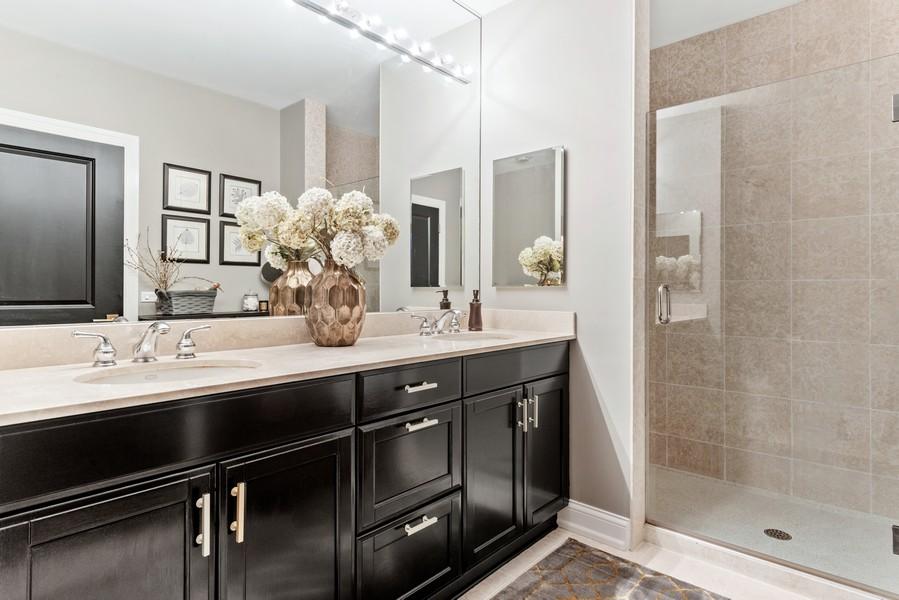 Real Estate Photography - 233 E 13th St, Unit 1006, Chicago, IL, 60605 - Master Bathroom