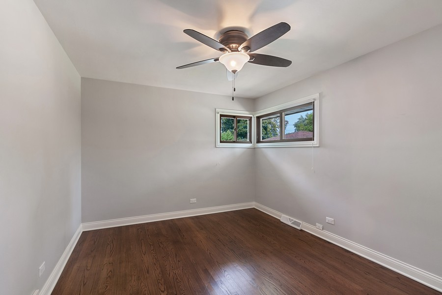 Real Estate Photography - 425 Aurora Way, Wheaton, IL, 60187 - Rear Bedroom