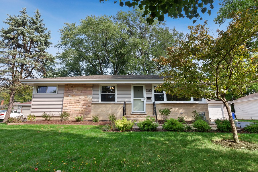 Real Estate Photography - 425 Aurora Way, Wheaton, IL, 60187 - Front View