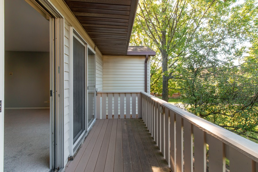 Real Estate Photography - 722 Deer Run Dr, Palatine, IL, 60067 - Balcony