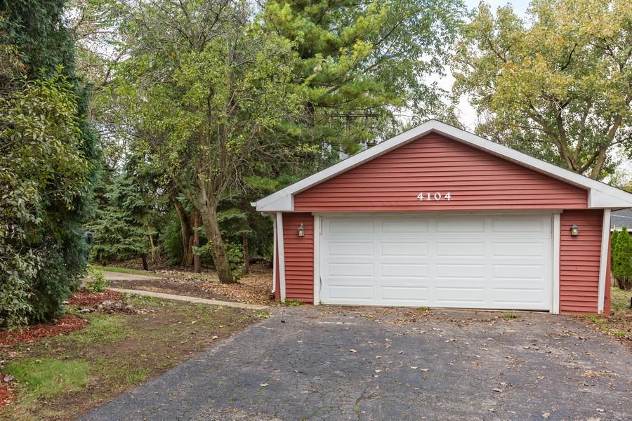 Real Estate Photography - 4104 North Washington St, Westmont, IL, 60559 - Garage