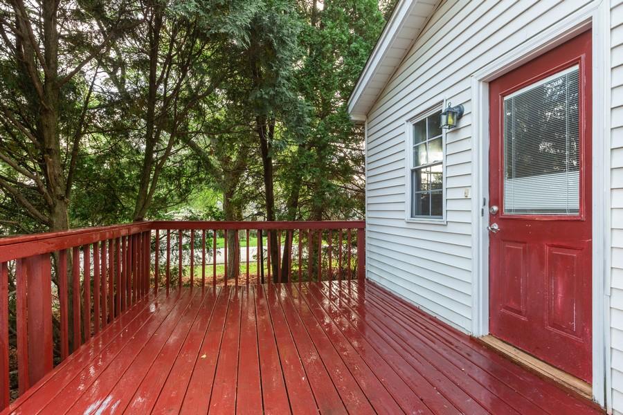 Real Estate Photography - 4104 North Washington St, Westmont, IL, 60559 - Deck
