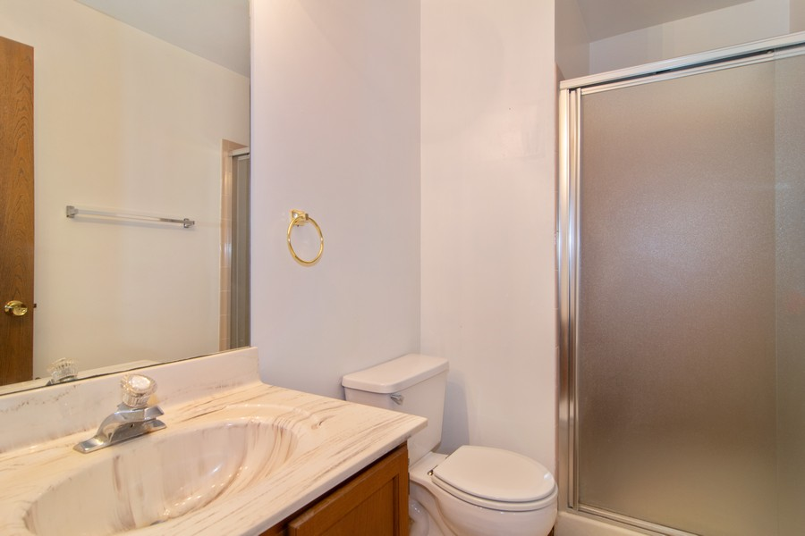 Real Estate Photography - 698 Greenfield Ct, C1, Bartlett, IL, 60103 - Master Bathroom