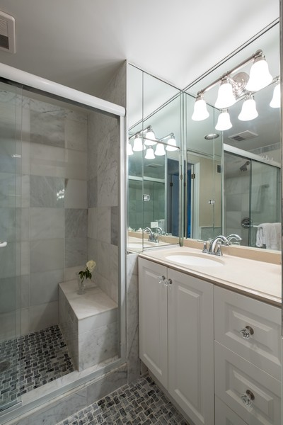 Real Estate Photography - 276 Crestwood, Northfield, IL, 60093 - Bathroom