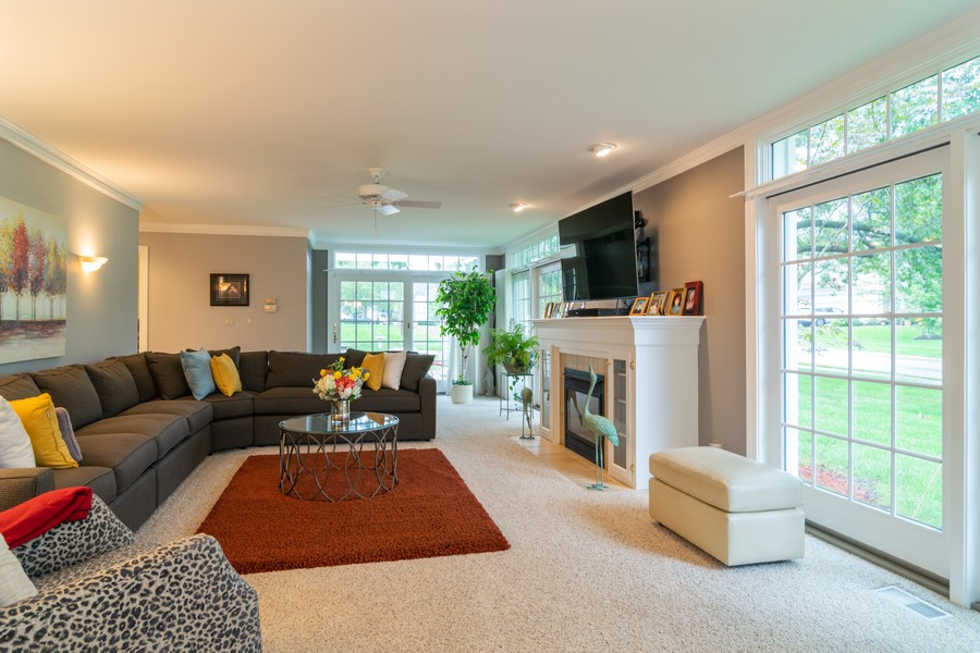 Real Estate Photography - 416 Chara Ct, Bartlett, IL, 60103 - Family Room
