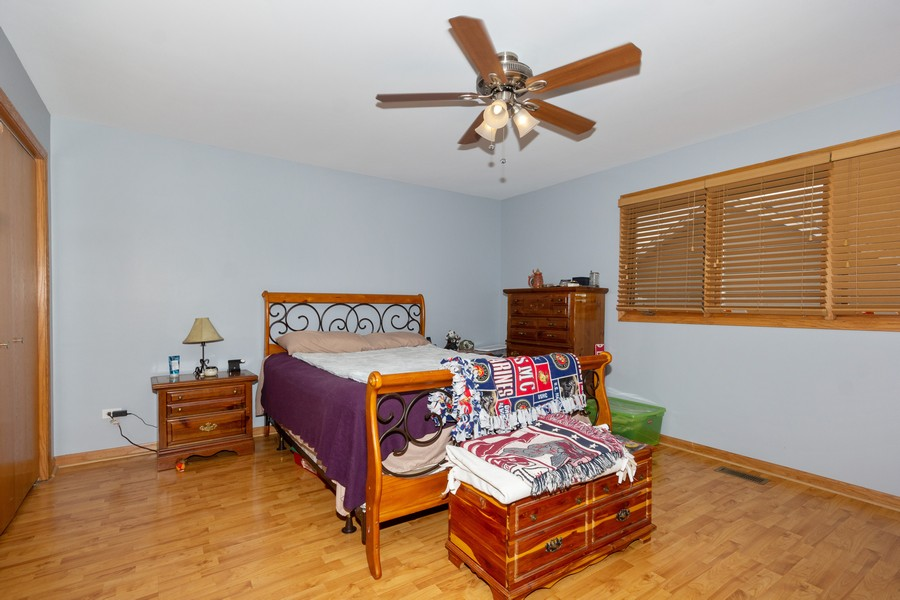 Real Estate Photography - 40 Ponderosa Dr, Romeoville, IL, 60446 - Master Bedroom