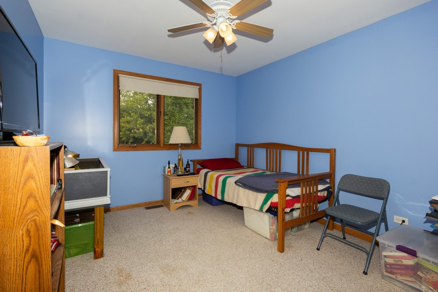 Real Estate Photography - 40 Ponderosa Dr, Romeoville, IL, 60446 - 3rd Bedroom