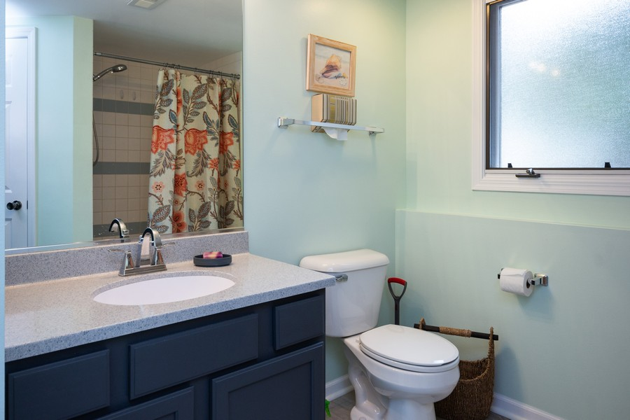 Real Estate Photography - 40 Ponderosa Dr, Romeoville, IL, 60446 - Bathroom