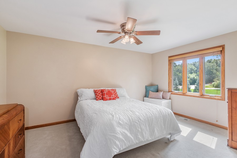 Real Estate Photography - 24650 West Middle Fork Rd, Barrington, IL, 60010 - 2nd Bedroom