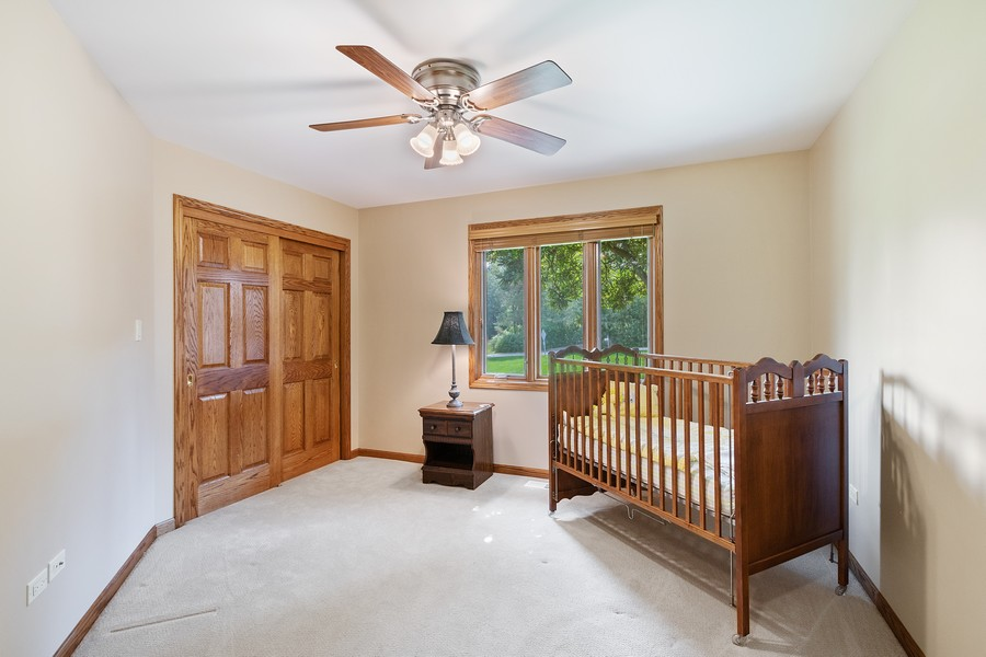 Real Estate Photography - 24650 West Middle Fork Rd, Barrington, IL, 60010 - 3rd Bedroom