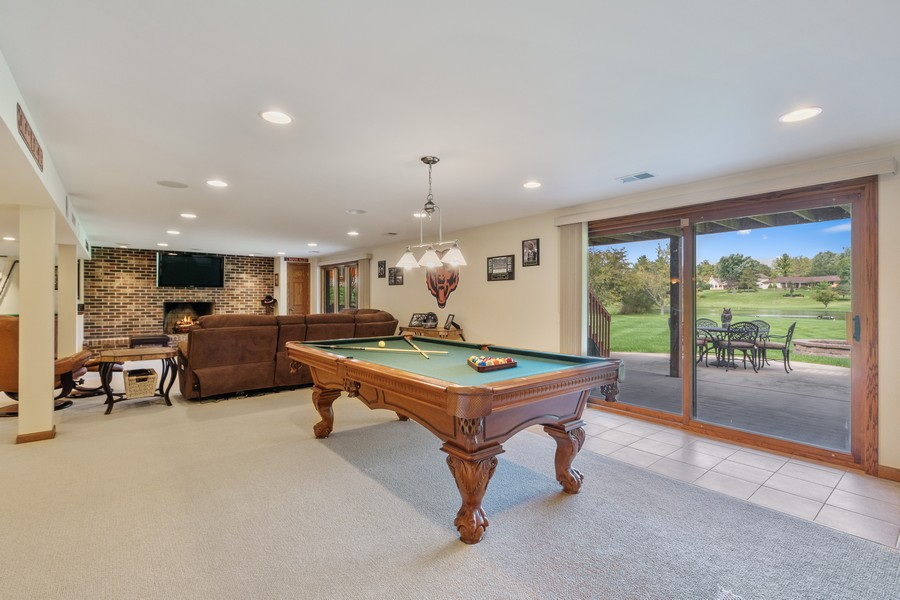 Real Estate Photography - 24650 West Middle Fork Rd, Barrington, IL, 60010 - Lower Level
