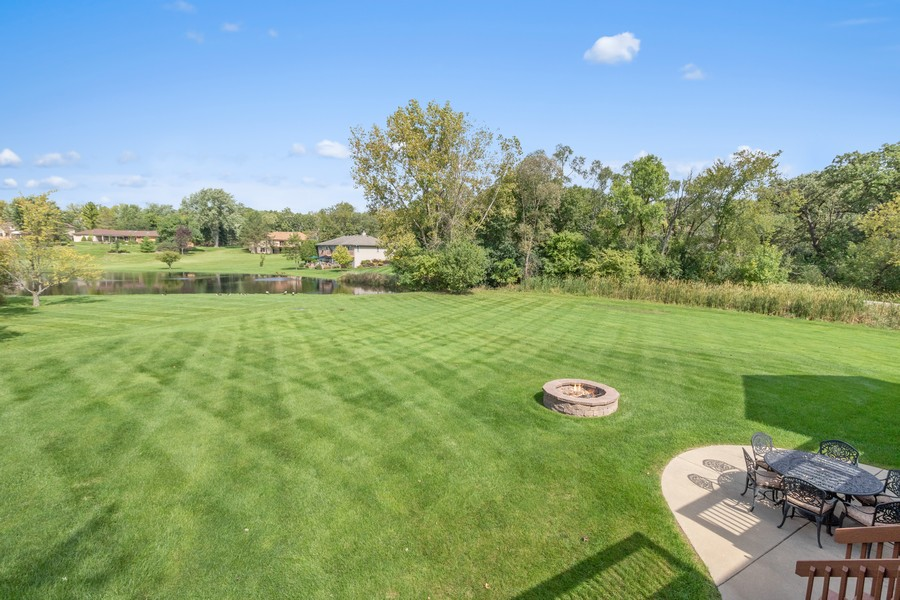 Real Estate Photography - 24650 West Middle Fork Rd, Barrington, IL, 60010 - Back Yard