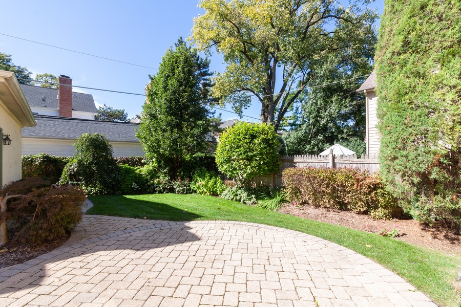 Real Estate Photography - 320 Justina St, Hinsdale, IL, 60521 - Back Yard