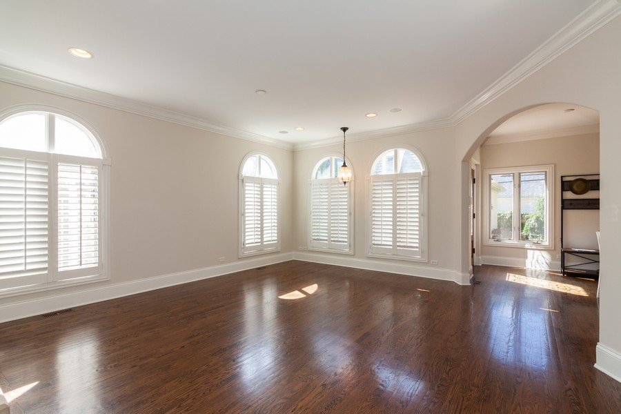 Real Estate Photography - 320 Justina St, Hinsdale, IL, 60521 - Family Room