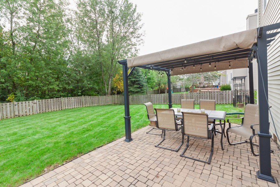 Real Estate Photography - 669 Blackhawk Ln, Bolingbrook, IL, 60440 - Patio