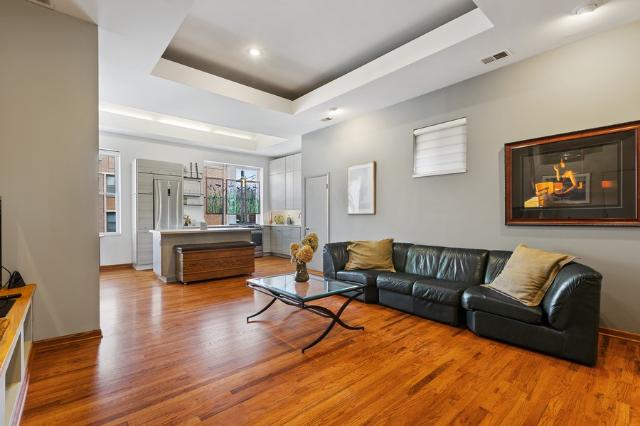 Real Estate Photography - 2202 North Halsted St, Chicago, IL, 60614 - Living Room