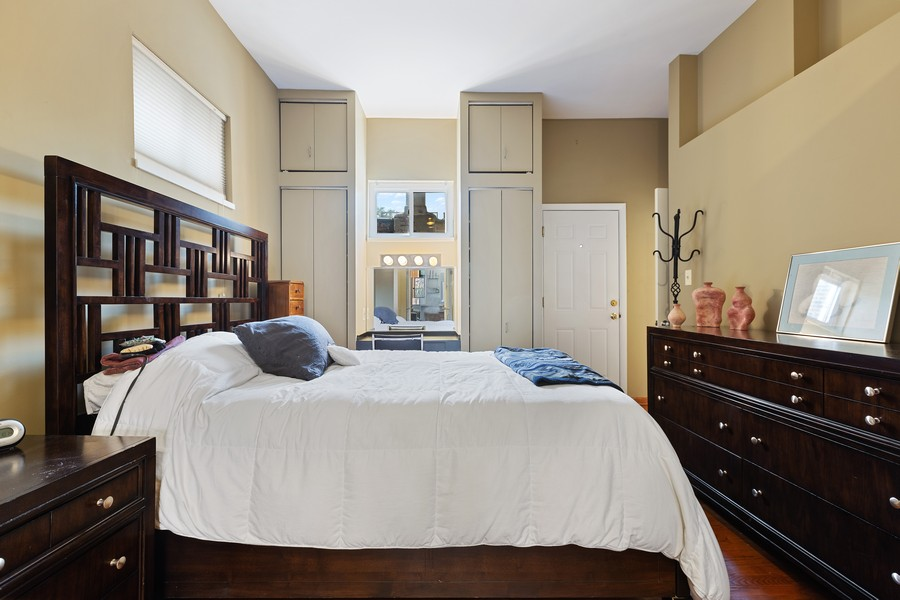 Real Estate Photography - 2202 North Halsted St, Chicago, IL, 60614 - Master Bedroom