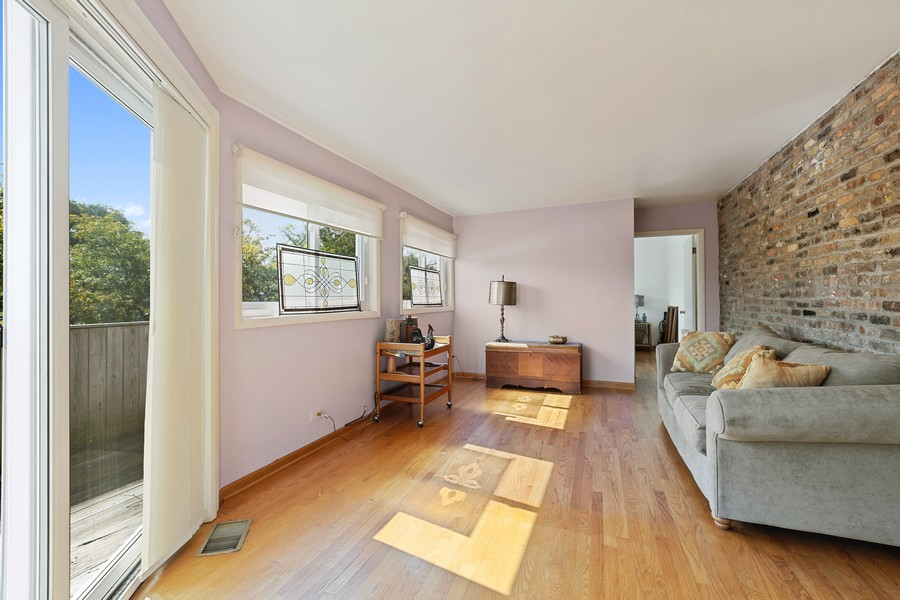 Real Estate Photography - 2202 North Halsted St, Chicago, IL, 60614 - Family Room