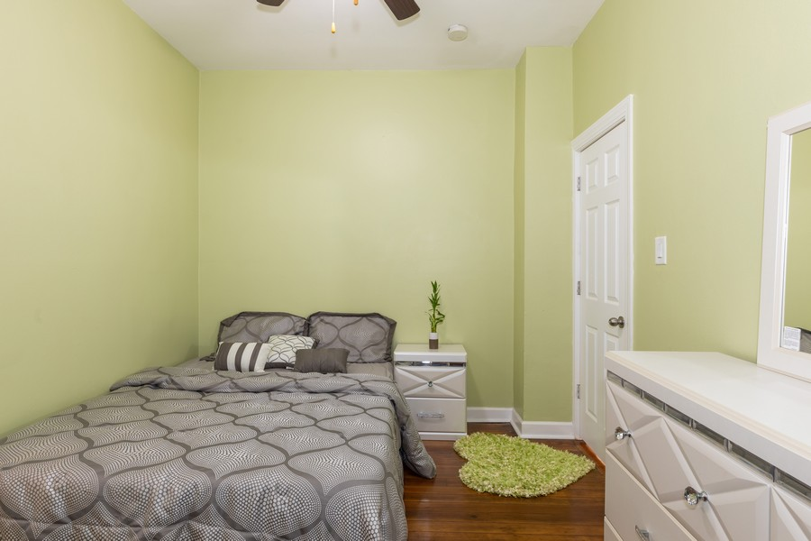 Real Estate Photography - 15724 Lathrop Ave, Harvey, IL, 60426 - 3rd Bedroom