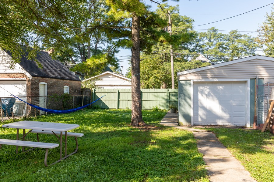 Real Estate Photography - 15724 Lathrop Ave, Harvey, IL, 60426 - Back Yard