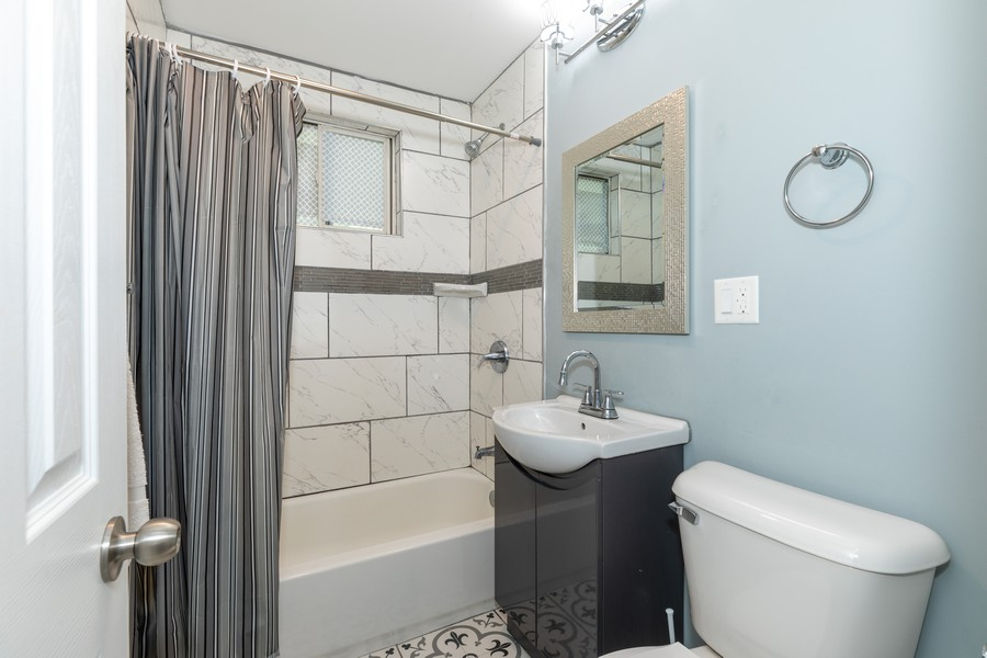 Real Estate Photography - 15724 Lathrop Ave, Harvey, IL, 60426 - Bathroom