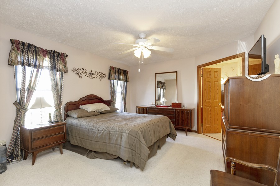 Real Estate Photography - 5127 Lucille Dr, Monee, IL, 60449 - Master Bedroom