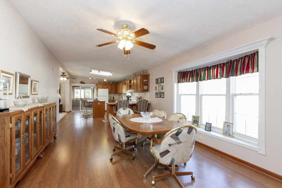Real Estate Photography - 5127 Lucille Dr, Monee, IL, 60449 - Dining Room