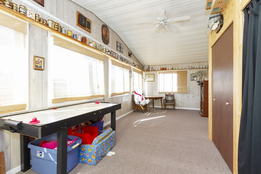 Real Estate Photography - 5127 Lucille Dr, Monee, IL, 60449 - Sun Room