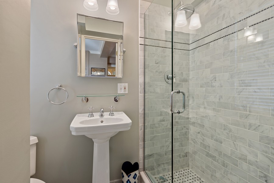 Real Estate Photography - 1366 North Dearborn St, 9A, Chicago, IL, 60610 - 3rd Bathroom