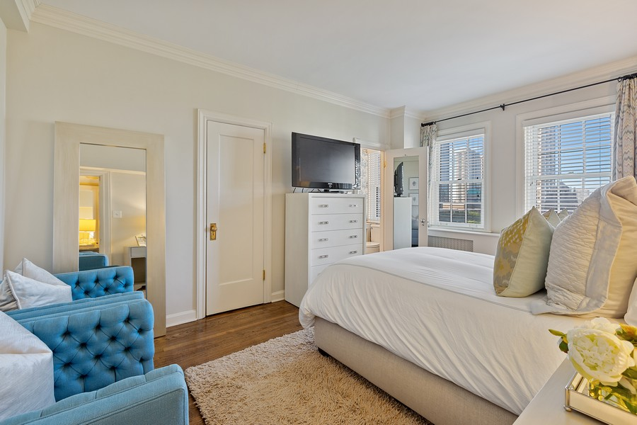 Real Estate Photography - 1366 North Dearborn St, 9A, Chicago, IL, 60610 - 2nd Bedroom