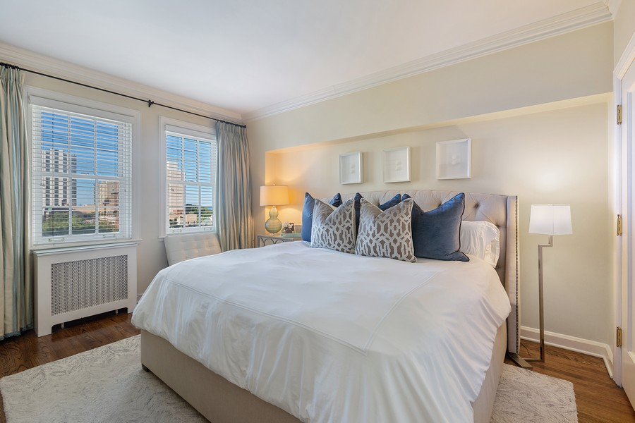 Real Estate Photography - 1366 North Dearborn St, 9A, Chicago, IL, 60610 - Bedroom