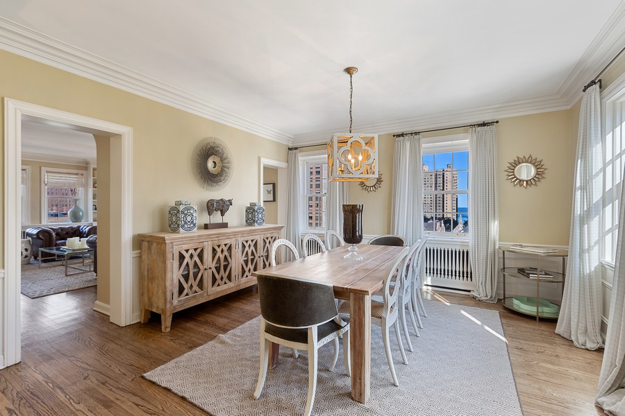 Real Estate Photography - 1366 North Dearborn St, 9A, Chicago, IL, 60610 - Dining Area