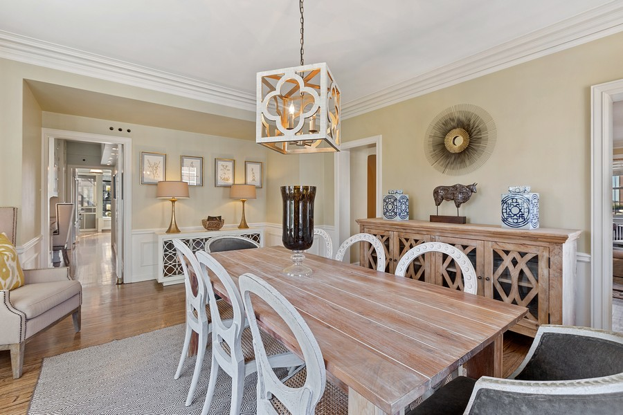 Real Estate Photography - 1366 North Dearborn St, 9A, Chicago, IL, 60610 - Dining Room