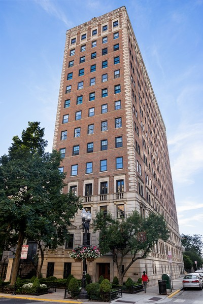 Real Estate Photography - 1366 North Dearborn St, 9A, Chicago, IL, 60610 - Front View